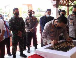 Tingkatkan Pelayanan, Kapolres Aceh Tamiang Resmikan Polsubsektor