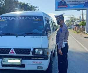 Tekan Pelanggaran Lalulintas, Polres Pidie Jaya Gelar Operasi Keselamatan Seulawah