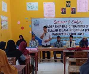 Basic Training PII, Camat Trienggadeng Ajak Kader Ikuti Sifat Rasulullah