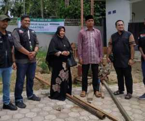 Global Wakaf - ACT Aceh Bangun Sumur Wakaf di Dayah Al-Munawwarah Pidie Jaya