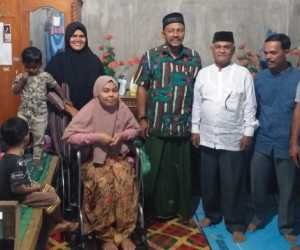 Anggota DPD RI Kunjungi Rumah Pegawai Honore Derita Kanker yang Di Pecat Dari Pekerjaan
