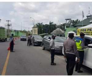 Penjagaan Pintu Masuk di Perbatasan Aceh Tamiang Mulai Diperketat
