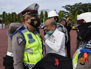 Polres Aceh Tamiang Gelar Apel Pasukan Dalam Rangka Operasi Ketupat Seulawah