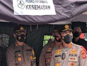 Antisipasi Mudik Lebaran, Kapolda Aceh Tinjau Pospam Perbatasan Aceh-Sumut