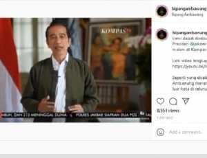 Gegara Bipang Ambawang Kalimantan, Pidato Jokowi Picu Kontroversi