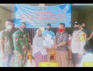 Gampong Paya Kecamatan Manggeng, Abdya Sukses Salurkan BLT Tahap II