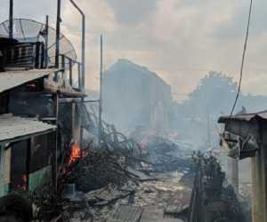 Jelang Lebaran Kebakaran Hebat Landa Aceh Tamiang