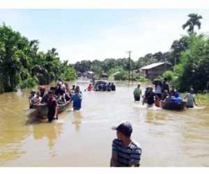 Diguyur Hujan Lebat, Sejumlah Gampong di Aceh Selatan Terendam Banjir