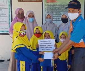 SDIT Muhammadiyah Manggeng Abdya Galang Dana Bantu Rakyat Palestina