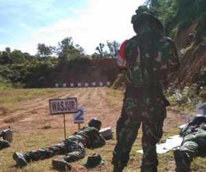 Butiran Peluru Siap Asah Kemampuan Prajurit Kodim Abdya di Ajang Jatri TW ke II