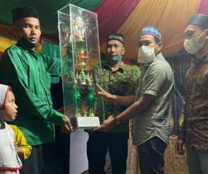 Dusun Relui Mangat Sabet Juara Umum Festival Ramadhan