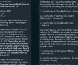 Indonesia Ditolak Arab Saudi Karena Belum Bayar Uang Haji?