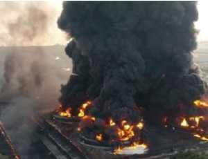 Ledakan dan Kebakaran Hebat Guncang Pelabuhan Dubai