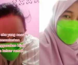 Viral! Wanita Nasrani Pakai Hijab Saat Keluar Rumah, Ini Alasannya