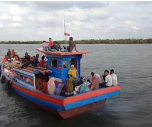 Cuaca Buruk dan Gelombang Besar, Nelayan di Aceh Jaya Tak Melaut