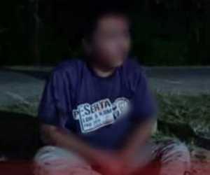 Dukun Yang Diduga Bawa Kabur Mahasiswi di Padang Babak Belur Dihajar