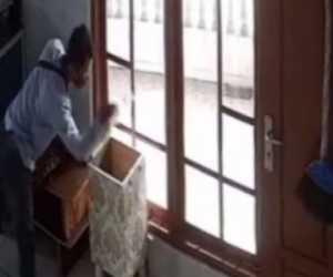 Di Pidie, Spesialis Pencuri Kota Amal Masjid di Tangkap