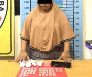Diduga Edar Sabu, Wanita Muda di Aceh Tenggara Ditangkap