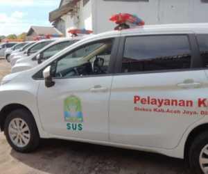 Di Masa Pandemi, Pemkab Aceh Jaya Beli 13 Ambulance Seharga 3 Miliar
