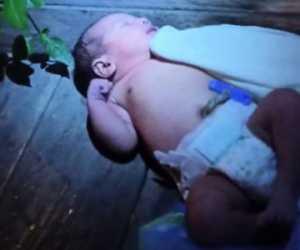 Bayi Laki-laki Baru Lahir Dibuang Dipinggir Jalan