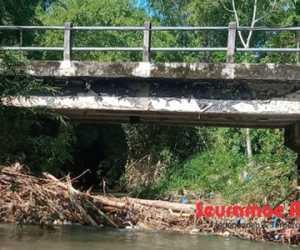 Tumpukan Sampah di Jembatan Tokoh II Abdya Akan Dibersihkan