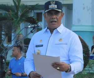 Bupati Aceh Jaya Minta SKPK Gelar Kegiatan Bersih-bersih