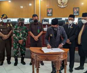 Pemda dan DPRK Aceh Jaya Sepakati KUA PPAS Tahun 2022
