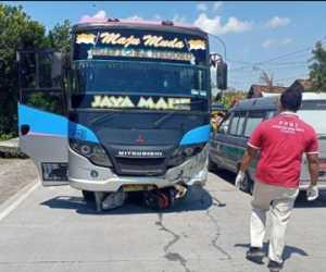 Pulang Sekolah, Nur Sadilah dan Novita Meninggal Ditabrak Bus