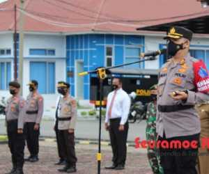 Mulai Hari Ini, Polres Aceh Jaya Gelar Operasi Patuh Seulawah 2021