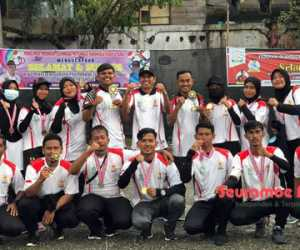 Sabet Dua Emas, Sembilan Atlit Aceh Jaya Lolos ke PORA 2022