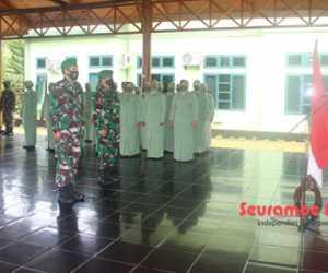 29 Personel Kodim Aceh Jaya Naik Pangkat