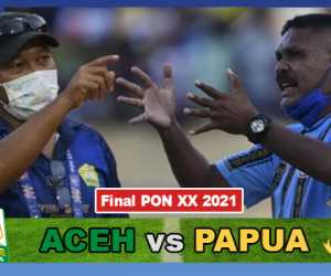 Link Live Final Sepak Bola PON XX 2021: Aceh vs Papua