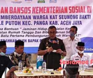 Komunitas Adat Terpencil Aceh Jaya Ditargetkan Jadi Profil Kemensos RI