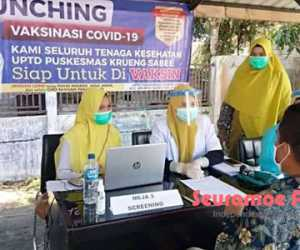 Aceh Jaya Mulai Terapkan Sanksi Bagi ASN dan THL Yang Belum Vaksin