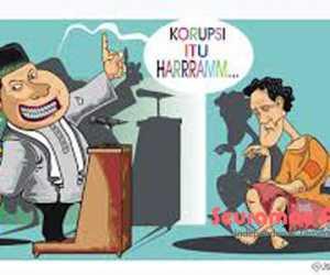 Kagura! Anak dan Ayah Sama-sama Terjerat Korupsi