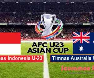 Prediksi Timnas Indonesia U-23 vs Australia Malam Ini