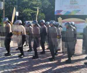 Sat Sabhara Polres Nagan Raya Intensifkan Latihan Dalmas