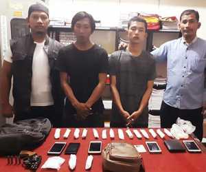 Tangkap Pengguna Narkoba, Polres Aceh Singkil Temukan Senpi Ilegal