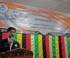 Heri Maulizal Terpilih Secara Aklamasi Sebagai Ketua Himpasay