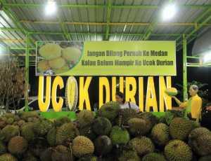 Yok Nikmati Durian Khas Melayu Deli di Duren Ucok Medan