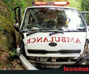 Bawa Pasien, Ambulans RSUTP Abdya Alami Kecelakaan di Aceh Jaya