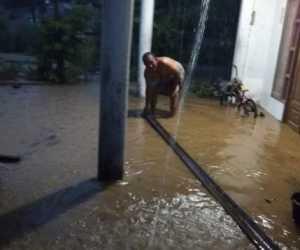 Hujan Landa Abdya Sejumlah Rumah Dilanda Banjir