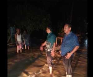 Banjir Makin Deras dan Listrik Padam di Aceh Utara