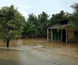 Dua Desa di Kecamatan Tripa Makmur Nagan Raya Dilanda Banjir