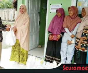 Lazismu Kuala Batee Timur Santuni Puluhan Fakir Miskin