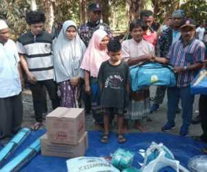 Korban Amukkan Gajah Liar Terima Bantuan Dari Pemerintah