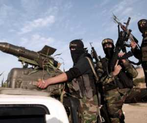 Drone Bersenjata Rudal Milik Brigade al-Quds, Hantam Tank Israel