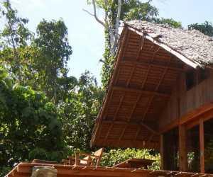 Tim Gabungan Terpadu Aceh Jaya Segel Bungalow Tampa Izin