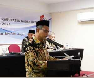 Bupati Nagan Raya Minta Anggota DPRK Memberi Kritik konstruktif