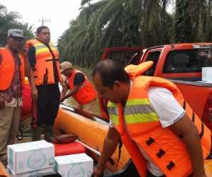 Anggota DPRK Pantau Banjir dan Pendistribusian Bantuan